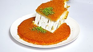 Cheese Nabulsi Konafah in Jeddah Saudi Arabia